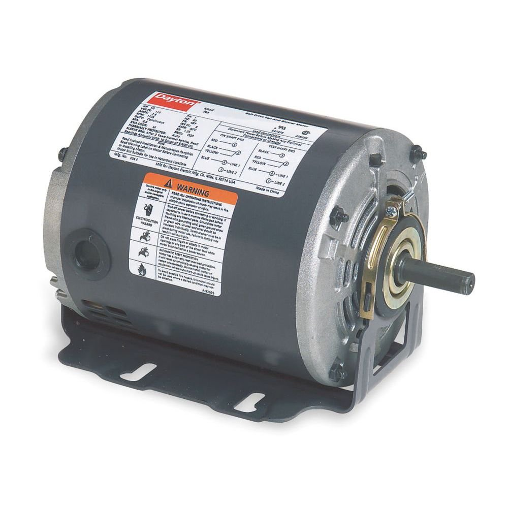 Dayton 5K260 Motor, 1/4 HP, 60hz, Belt