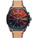 Diesel Men's Quartz Watch, Analog Display and Leather Strap DZ4476