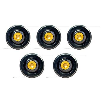 Raysen 5er 3W Mini Recessed LED Einbaustrahler Minispot ...