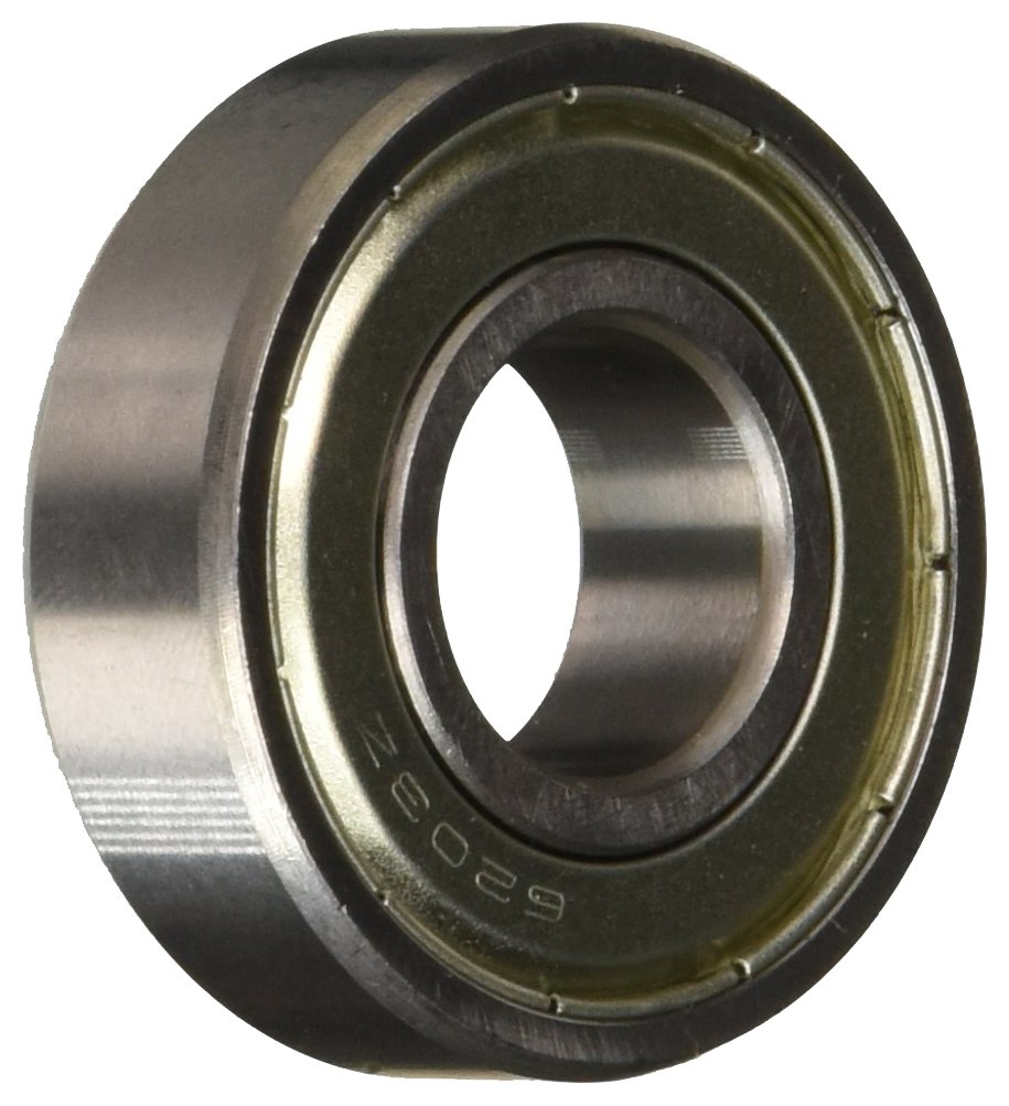 Uxcell a13110600ux0448 17mm/40mm/12mm Metal Sealed Deep Groove Ball Bearing 6203Z, 0.47' width, 0.67 Metal 0.47 width