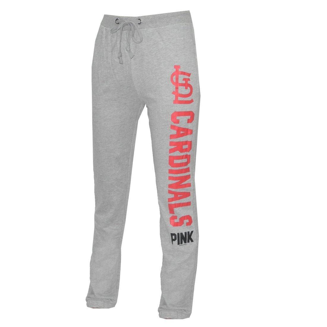 Mujer rosa Victoria Secret MLB St, Louis Cardinals Slim algodón/pantalones de pijama pijamas de ajuste Gris gris Talla:mediano: Amazon.es: Deportes y aire ...