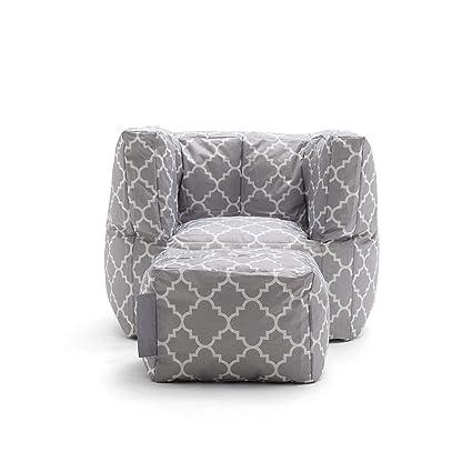 Surprising Amazon Com Zouqilai Creative Cube Lazy Sofa Settee Bean Bag Evergreenethics Interior Chair Design Evergreenethicsorg