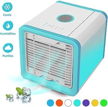 Suzada Ventilador USB,Portátil,Aire Acondicionado,Calefacción en ...