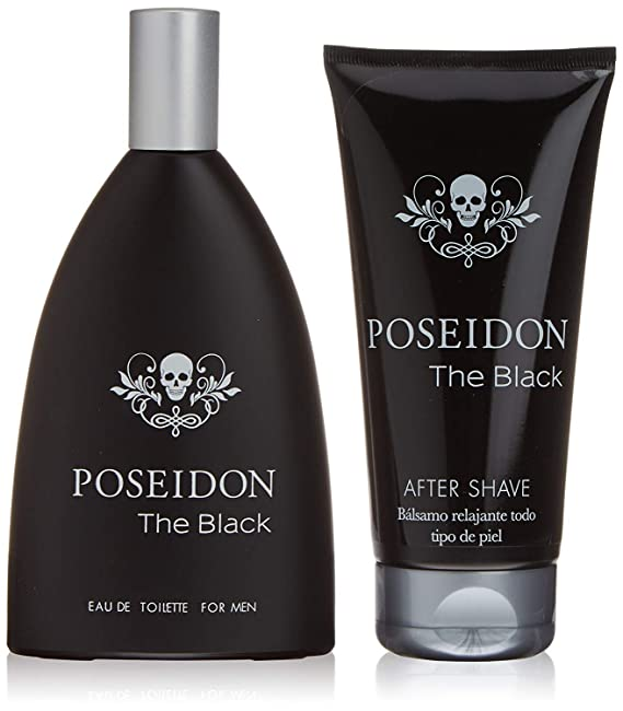 Poseidon The Black para Hombre - Set Colonia 150 ML y After Shave