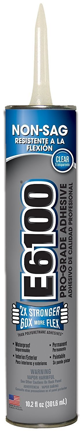 Adhesive,10.2 Oz E-6100 Clear