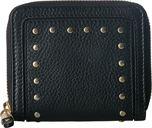 ssidy Small Zip Wallet, Black, One Size ()