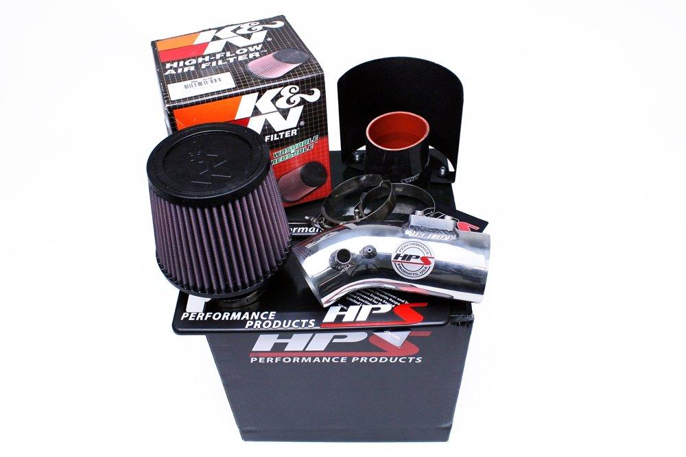 Heat Shield Short Ram Polish for 07-16 Toyota Camry 3.5L V6 HPS Shortram Air Intake Kit