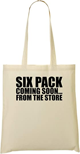 ShutUp Six Pack Coming Soon From The Store Funny Black Bolso De ...