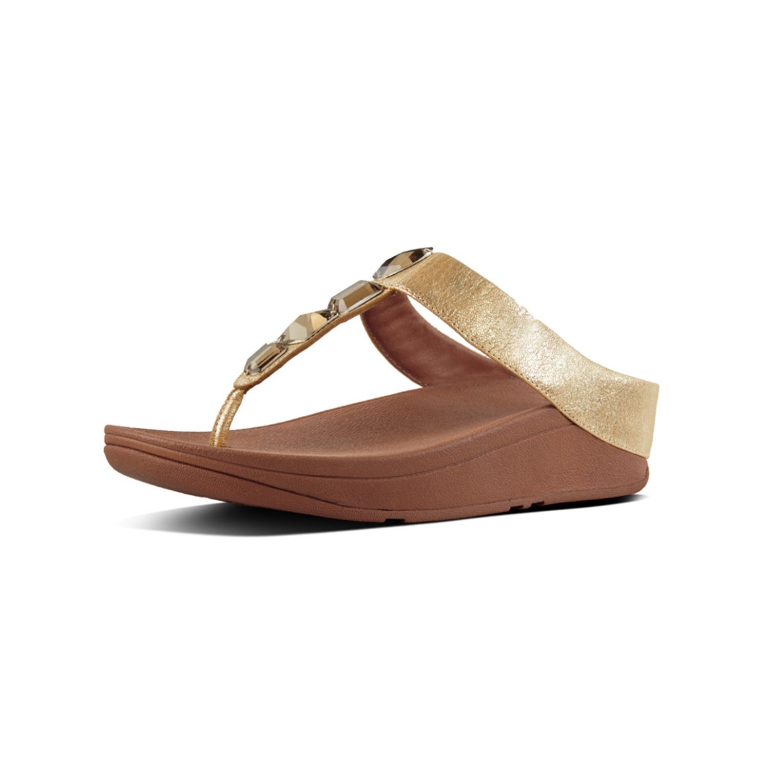 94e08254389efb FitFlop Women s ROKA Toe-Thong Sandals-Leather Flip-Flop