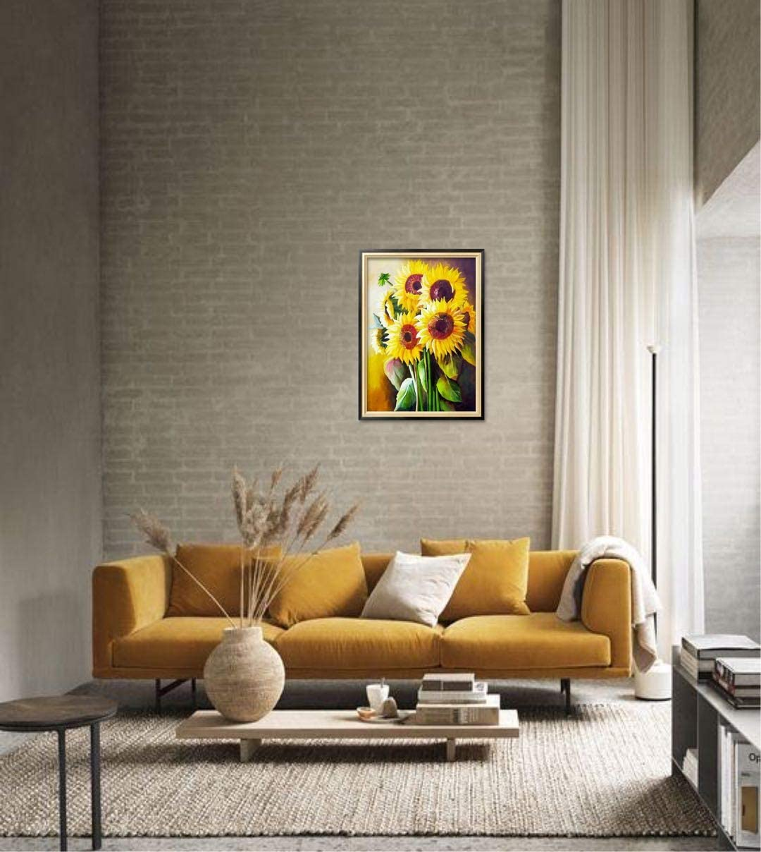 Deer Sosolong Deer 5D Diamond Painting,Deer Diamond Art for Living Room Bedroom