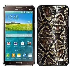 EJOY---Cubierta de la caja de protección para la piel dura ** Samsung Galaxy Mega 2 ** --Modelo de la piel de la serpiente Arte Naturaleza Reptil