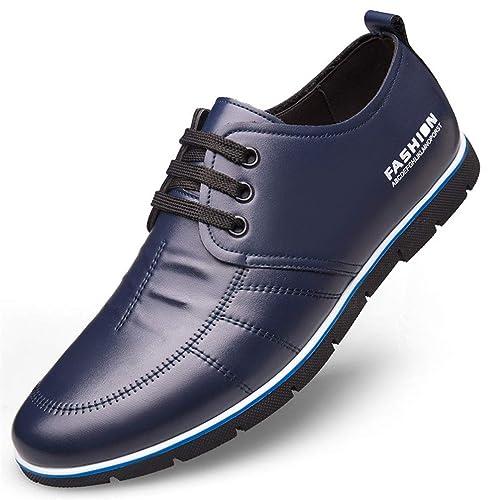 Negocios Zapatos Hombres de Plano cómodo Moda Zapatos Mocasines clásico acogedoras Antideslizante Resistentes de amortiguación: Amazon.es: Zapatos y ...