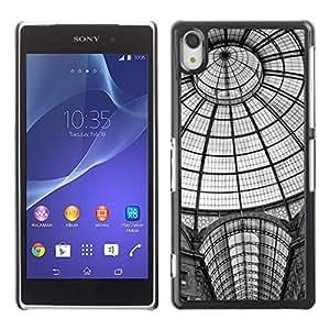 """For Sony Xperia Z2 , S-type La estación de metro Arquitectura de Nueva York"""" - Arte & diseño plástico duro Fundas Cover Cubre Hard Case Cover"""