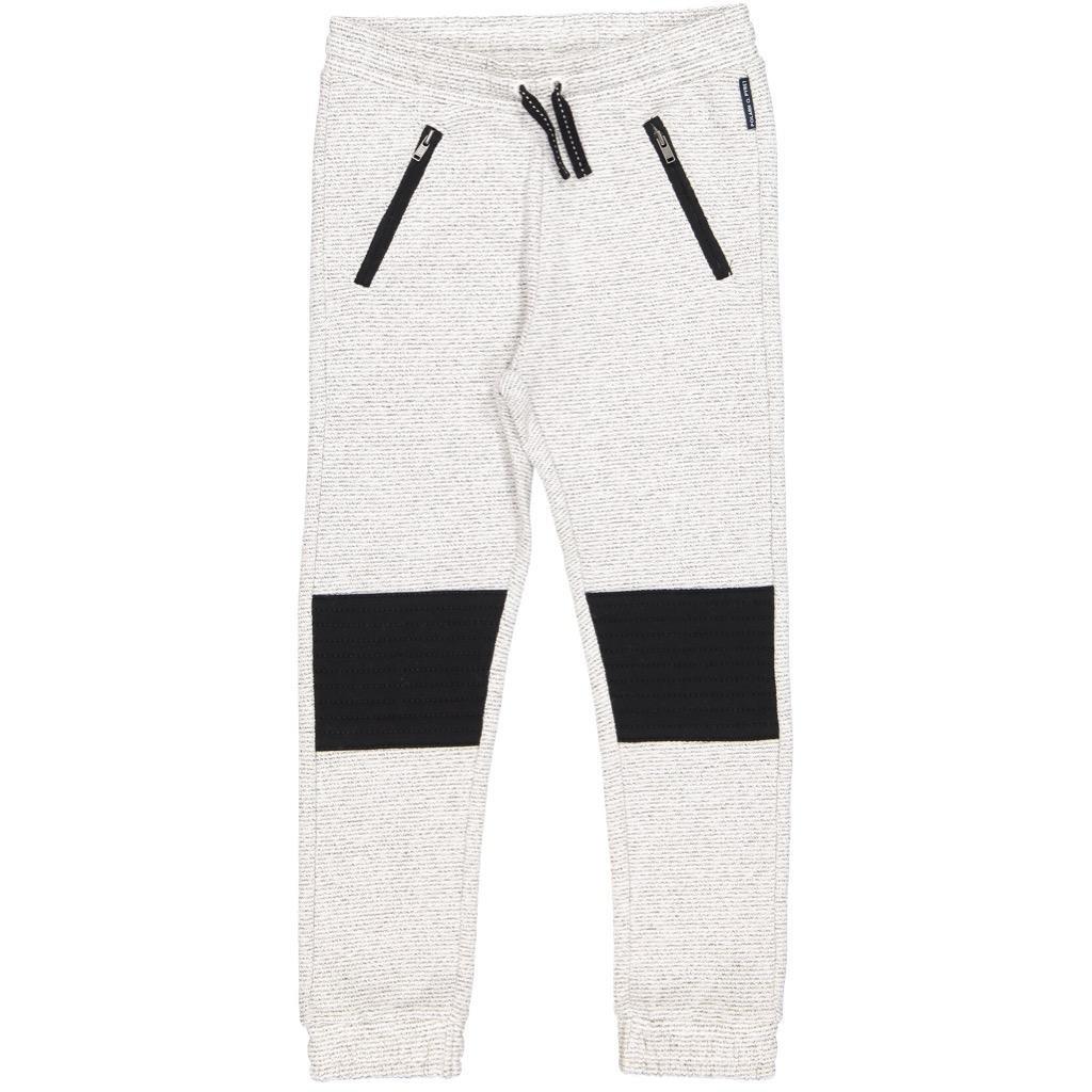 Polarn O. Pyret FINE Stripe Jogger Sweatpant (2-6YRS) - 2-3 Years/Egret