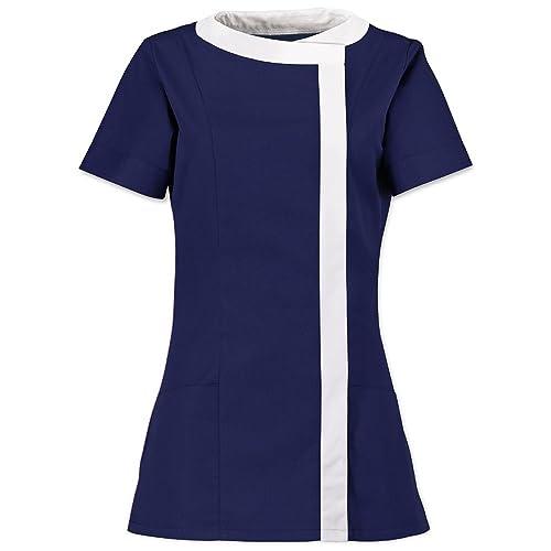 Alexandra para mujer asimétrico Túnica/Health Belleza/Medical Workwear
