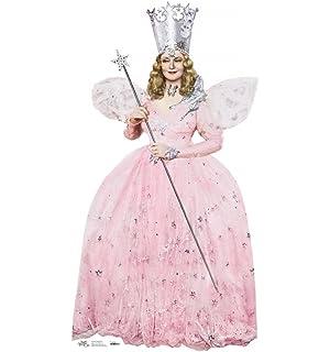Amazon.com: Wizard of Oz Deluxe Glinda The Good Witch Costume ...