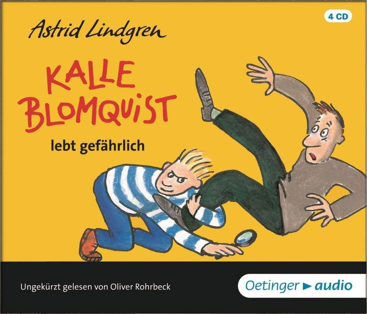 Kalle Blomquist: lebt gefährlich (4 CD)