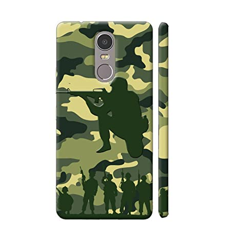 huge discount 3b95f 28b34 Clapcart Redmi Note 4 Army Camouflage Pattern Designer: Amazon.in ...