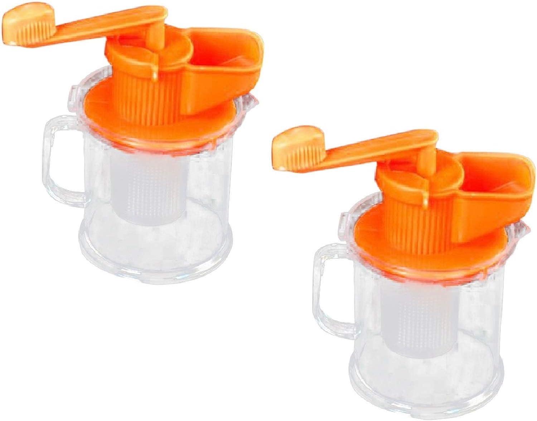 GOSONO 2 PCS Manual Soymilk Maker Hand Carrot Soybean Vegetables Squeezer Milk Fruit Juicer Machine Juice Blender Kitchen Cooking Tools