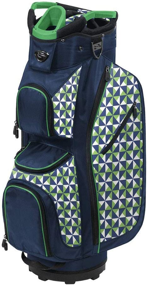 LDX Plus CART Bag - Navy/Green/White/Spin