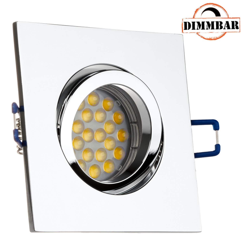 3 Stück 5 Watt SMD Modul 230 Volt Dimmbar 400 Lumen Abstrahlwinkel 120 Grad