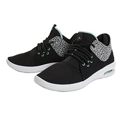 best service 805c7 84029 Image Unavailable. Image not available for. Color Jordan Nike Air First  Class 11 BlackEmerald Rise Cement Grey