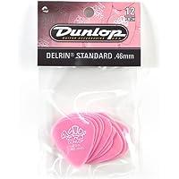 Dunlop 41P.46 Delrin®, rosa claro, 0.46 mm, paquete de 12