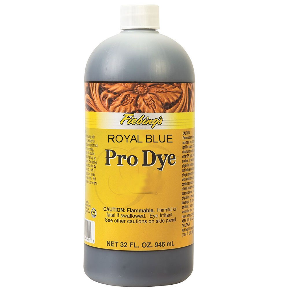 Amazon.com: Fiebing Royal Blue 32oz Professional Oil Leather Dye: Sports & Outdoors