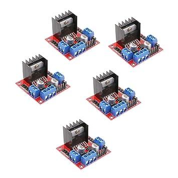 L298N Motortreiber Schrittmotor Dual-Bridge Driver Controller Modul Board Robot