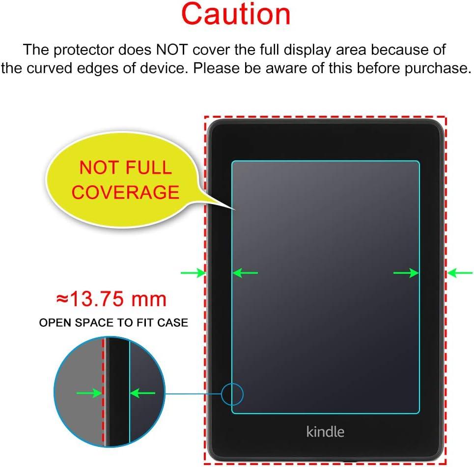 Anti-Glare Not Full Coverage Matte Film Shield Screen Protector for Kindle Paperwhite Matte Screen Protector J/&D Compatible for 3-Pack Kindle Paperwhite Screen Protector,