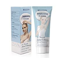 60ml Whitening Cream, Skin Lightening Cream, Effective Lightening Cream for Knees, Elbows, Armpit, Sensitive Areas, Brightens & Nourishes Repairs Skins