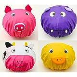 Zoie + Chloe 3D Animal Shower Caps