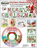 Software : ScrapSMART - Christmas Wonderland Software - for Crafts, Cards, Sewing and Quilting - Jpeg and PDF Files (CDXMASW159)