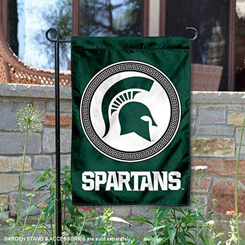College Flags and Banners Co. Michigan State Spartans Shield Garden Flag (Garden Flags Collegiate)