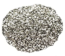 Crimp Spacer Stopper Beads 2mm Fit Jewelry Making(pack of 1000)
