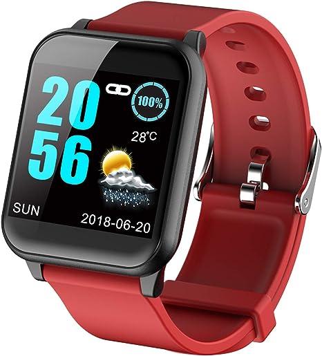 Amazon.com: Fitness Tracker ECG Monitor de ritmo cardíaco de ...
