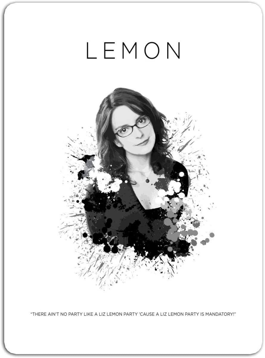 "BreathNenStore Sticker Television Show Liz Lemon Tv Shows Series (3"" x 4"", 3 PCS/Pack)"