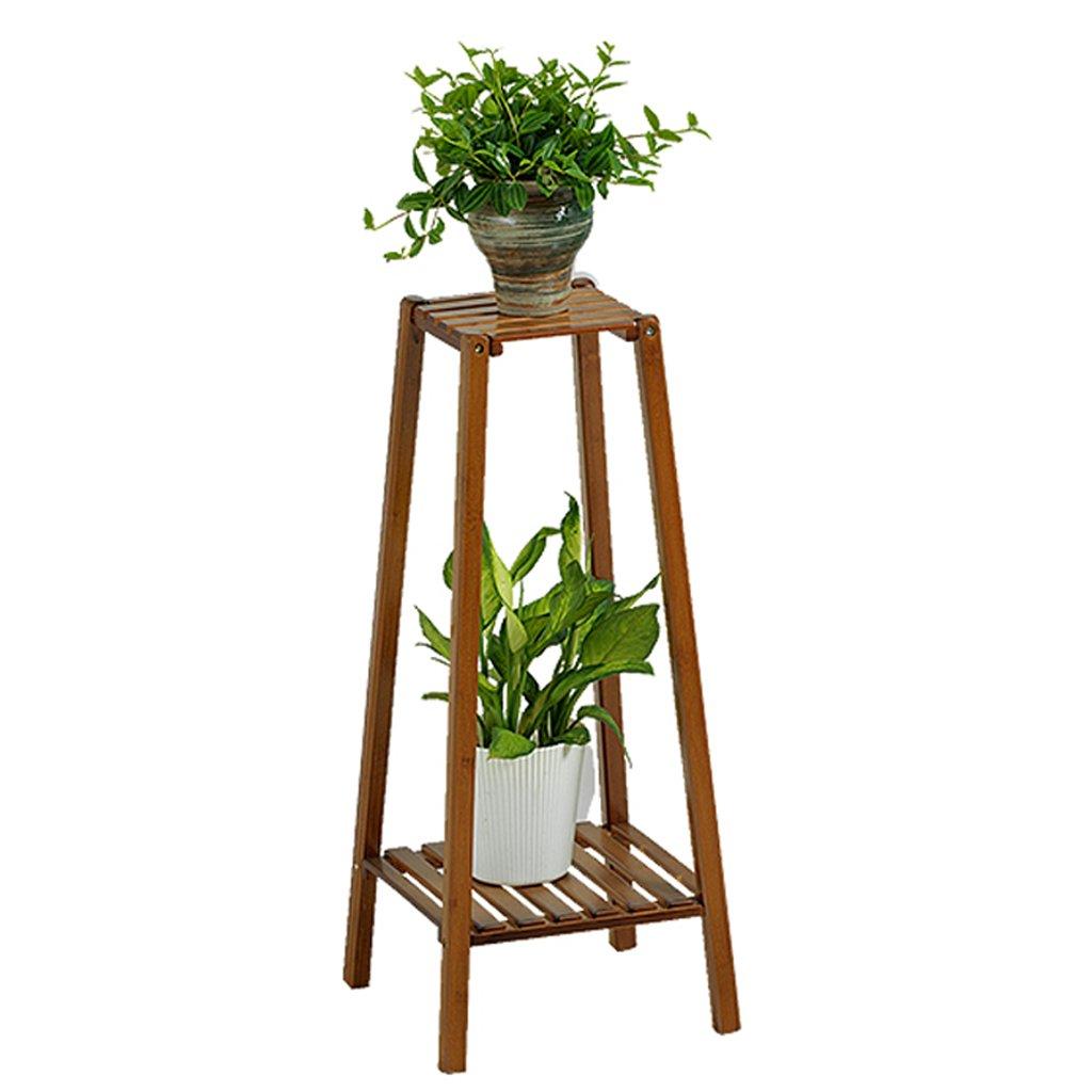 LYLLB- frame Madera Maciza Flor Planta Display Rack Rack Rack, Rack, Plantas De Maceta, Interior Y Exterior, Balcon Living Comedor Trastero