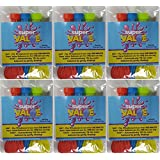 Super Value Water Balloons - 6 Sets with Total 666 Water Balloons – Be Ready for Water Bombs Fight – Keep Everything Easy for Kids - Best Value to Buy by WiAllFun