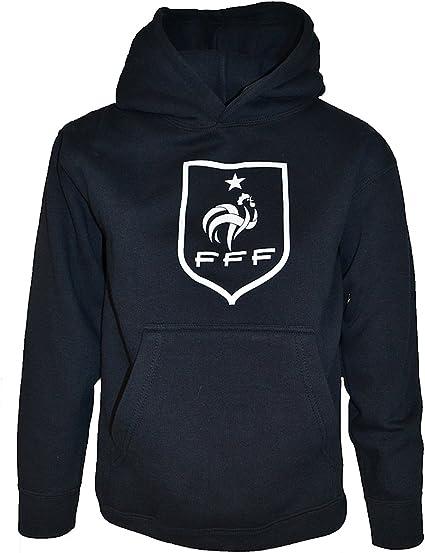Collection Officielle Taille Enfant Gar/çon Equipe de FRANCE de football Sweat Capuche FFF