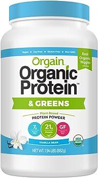 Orgain Organic Protein & Greens Protein Powder