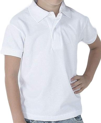 Mercaroupa - Polo COLEGIAL RAPIFE Manga Corta Niñas Color: Blanco ...