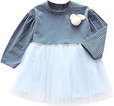 OPAKY Vestidos de Niña Pequeña para Bebés y Niños Pequeños ...