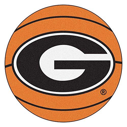 University of Georgia Basketball Area (Georgia Bulldogs Basketball Rug)