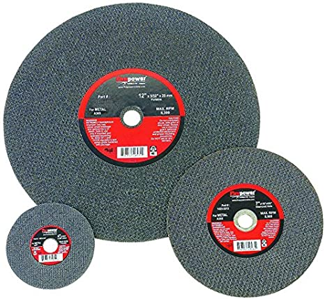 Firepower 1423-2198 Type 1 Abrasive Chop-Saw Wheel for Metal 14-Inch x 3//32-Inch x 1-Inch