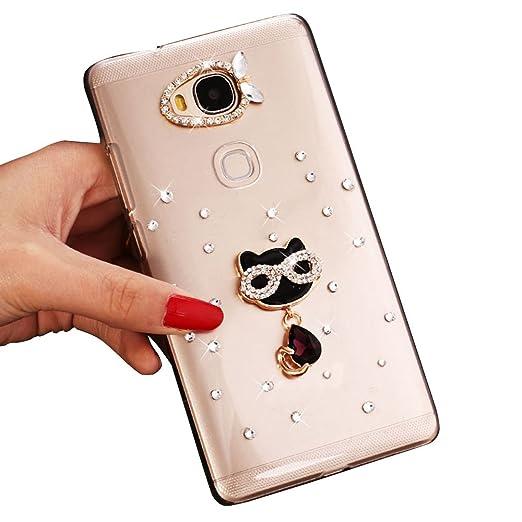 5 opinioni per Sunroyal® Ultra Sottile Bling Duro Back Custodia per Huawei Ascend G8/Huawei