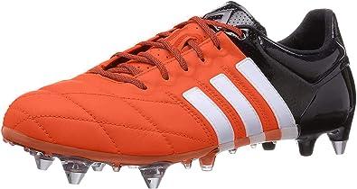adidas ACE 15.1 SG, Chaussures de Football en Cuir pour