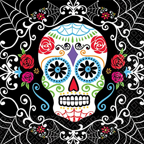 Day of The Dead Luncheon Napkins]()