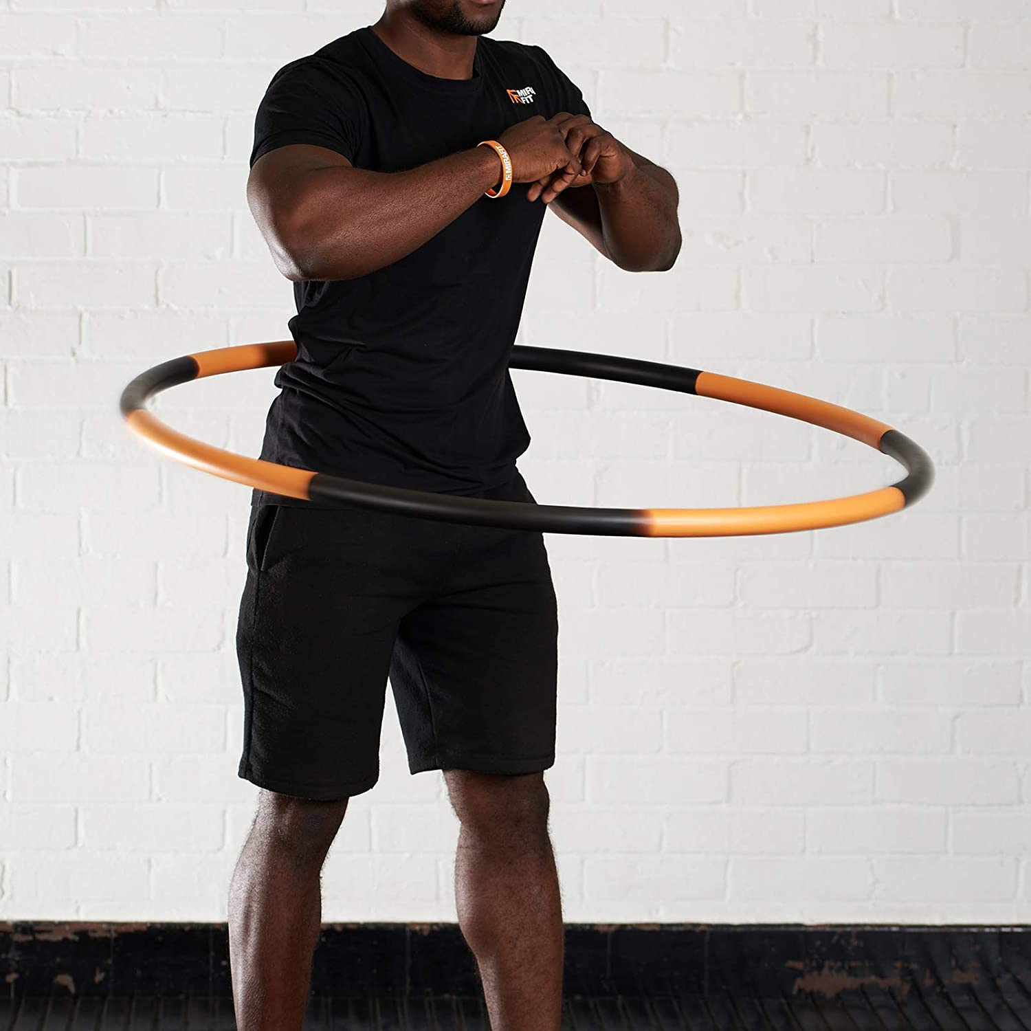 Choice of Colour Mirafit Smooth Weighted Hula Hoop