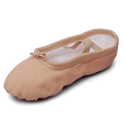 Amazon.com: Calzado de danza de ballet de lona.: Shoes